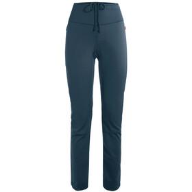 VAUDE Wintry IV Pantalones Mujer, steelblue